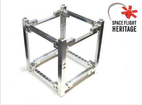 Sputnix 1U Cubesat structure on satsearch